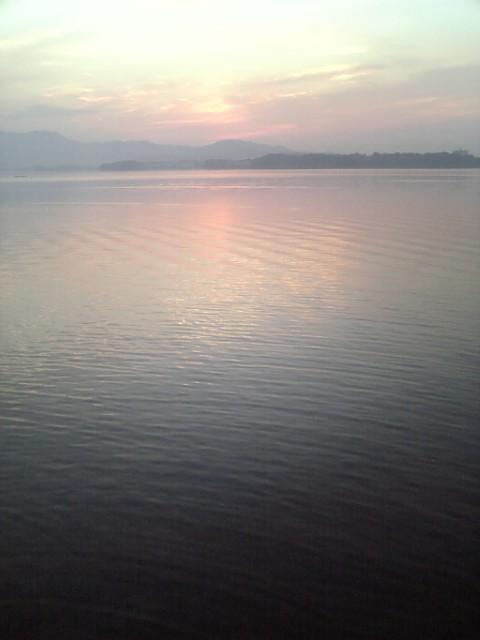 ハーレーで浜名湖